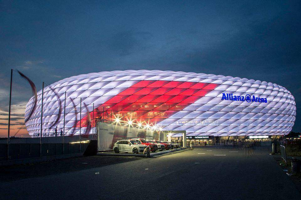 Allianz arena bayern hd mnichov