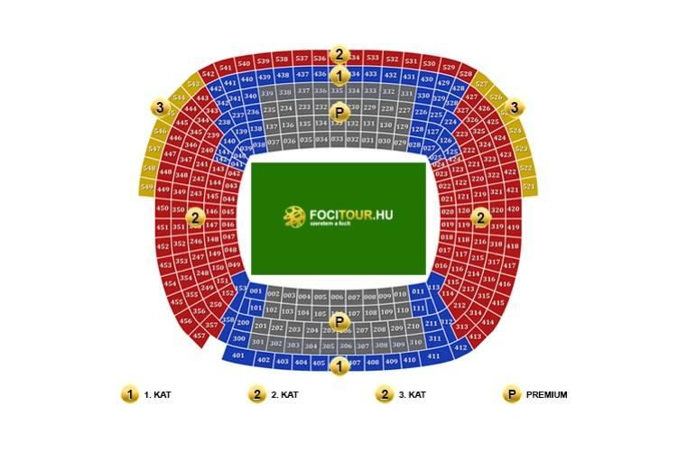 Barcelona Camp Nou Nou Camp mapa