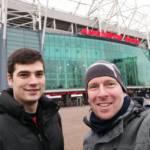 manchester united - selfie