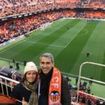 fc valencia - selfie - stadion