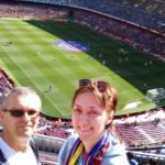 barcelona - camp nou - selfie