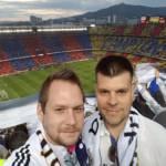 camp nou - barcelona - selfie