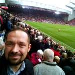 liverpool - selfie - stadion