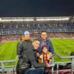 camp nou - barcelona - fans - kép