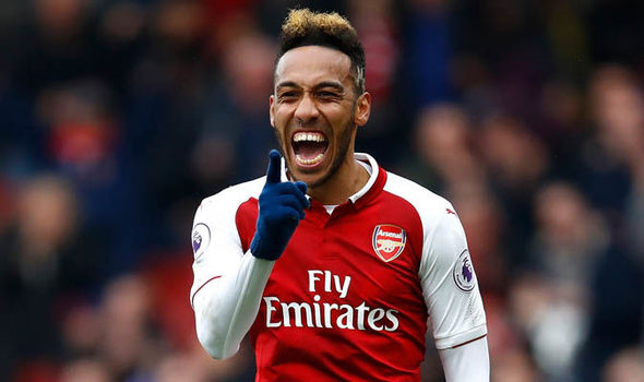 arsenal -aubameyang