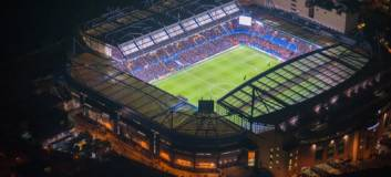 chelsea - Stamford Bridge at night