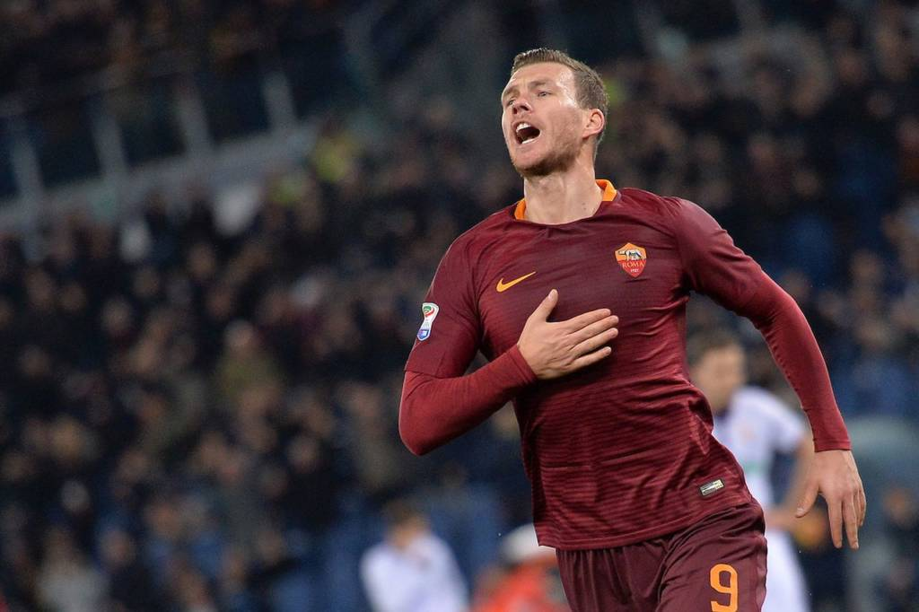 AS Roma-Fiorentin-dzeko