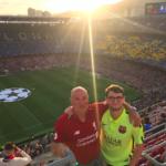 fc barcelona - apa és fia - meccs