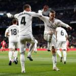 real madrid - ramos - örömtánc