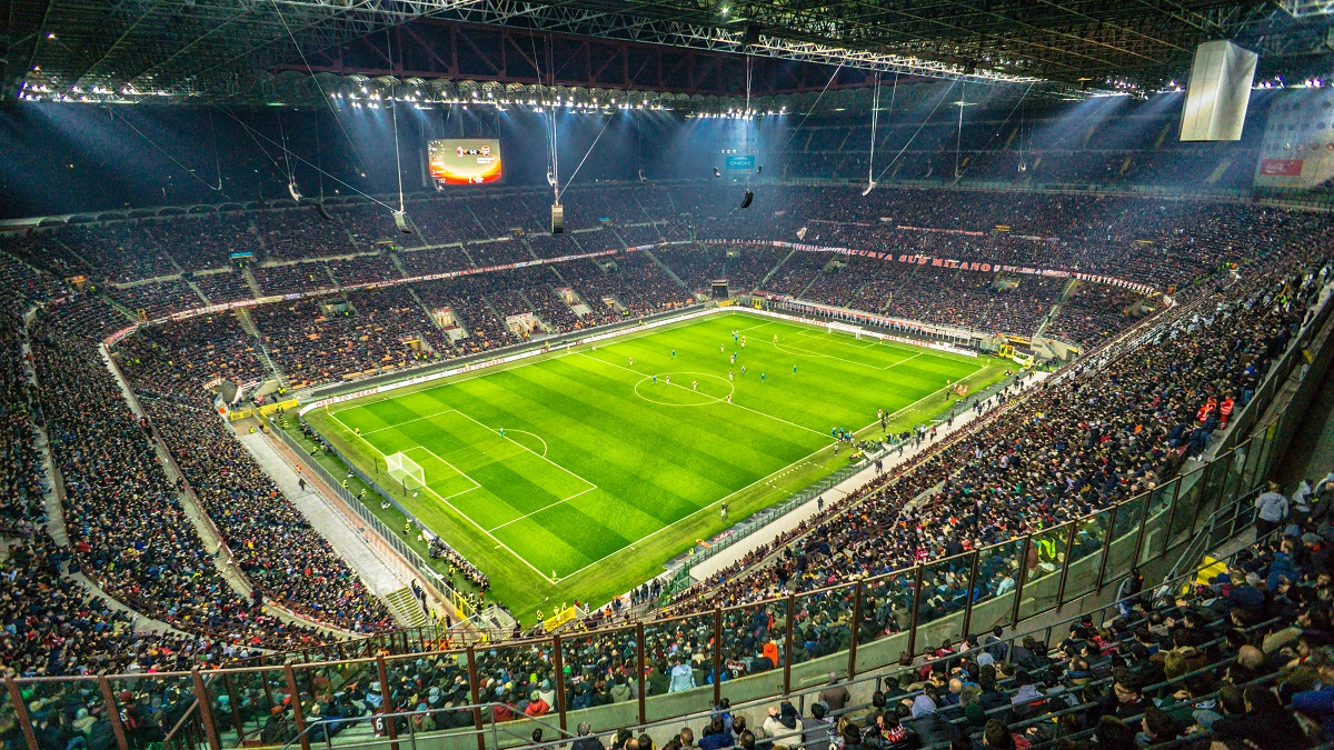 as milan - inter - san siro - milano